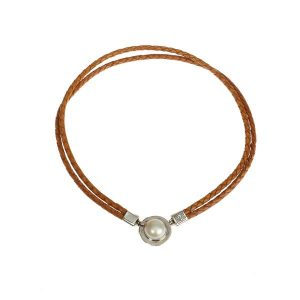 DOUBLE PLAITED SOUTH SEA PEARL NECKLACE