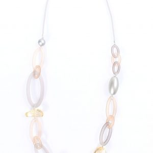 HOVER TO ZOOM or CLICK TO ENLARGE +× close Skip to the beginning of the images gallery FREE SHIPPING ON ALL ORDERS OVER $50, LIMITED TIME ONLY! COASTAL DUNE LOOPS NECKLACE