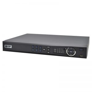 Professional 4 Channel Network Video Recorder with PoE (128Mbps)