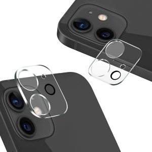 """Tempered Glass Camera Lens Cover Screen Protector for iPhone 12 6.1"""""""