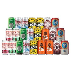 MD SPECIAL MIXED CRAFT AND FULL STRENGTH BEER CASE - 24 CANS