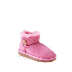 OZWEAR UGG Kids Mini Button Boots  (Water Resistant)