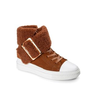 UGG Agnes Lace Buckle Sneaker