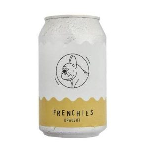 Frenchies Draught Kolsch Beer Cans 330ml - Pack of 24