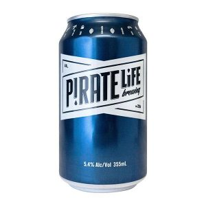 Pirate Life Brewing Pale Ale Cans 355ml - Pack Of 16