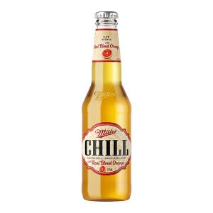 Miller Chill With Real Blood Orange Bottles 330ml - Pack of 24