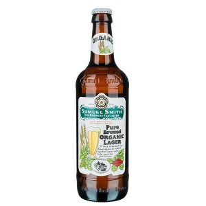Samuel Smith Pure Brewed Organic Lager Bottles 550ml - Pack of 12