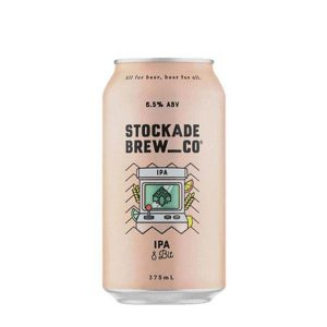 Stockade Brew Co 8 Bit IPA Cans 375ml - Pack of 24