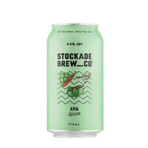 Stockade Brew Co Hop Splicer XPA Cans 375ml - Pack of 24