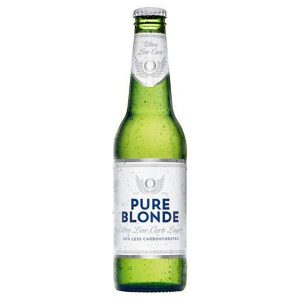 Pure Blonde Ultra Low Carb Lager Bottle 355mL - Pack Of 24
