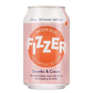 Moon Dog Fizzer Strwbs & Cream Can 330ml - Pack Of 24
