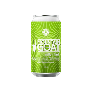 Mountain Goat Billy the Mid Session Ale Cans 375ml - Pack of 24