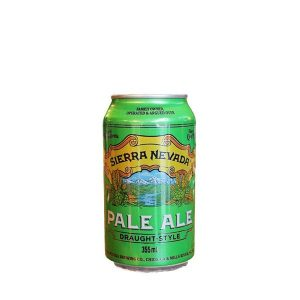 Sierra Nevada Pale Ale Draught Style Cans 355ml - Pack of 24