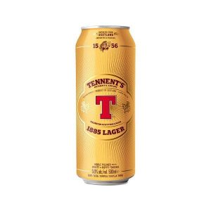 Tennents Lager Cans 500ml - Pack Of 24