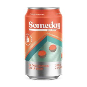 Someday Sour Blood Orange Cans 355ml - Pack of 16