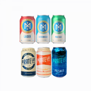 MISMATCH BREWING & PIRATE LIFE MIXED CASE - 12 CANS
