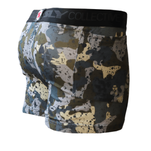 Mens Camouflage Trunks Stealth Mode