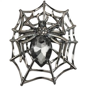 Spider Triple Scarf Ring - (Small Rings) in Gift Box
