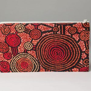 Cotton Zip Bag by Teddy Gibson